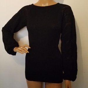 MISSONI wool knit tunic sweater sz 6 GUC